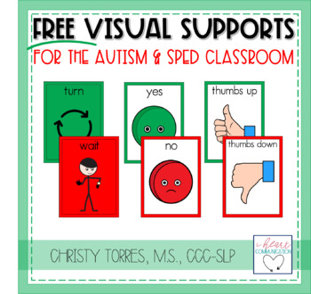 FREE Communication and Visual Supports for Children with Autism