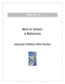 Wait for it: Back to School - A Reflection