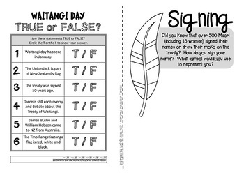 Waitangi Day {An activity booklet about the Treaty for Kiwi kids}