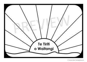 Waitangi Day Art - The Treaty of Waitangi