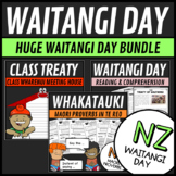 Waitangi Day Bundle 3 Activities Reading, Math Puzzles and Writing Class Treaty