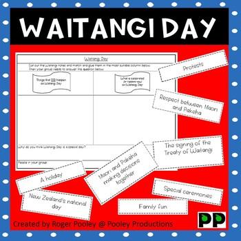 Waitangi Day Discussion Activity