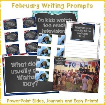 Treaty of Waitangi Literacy Bundle for Waitangi Day Reading Writing