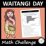 Waitangi Day Math Challenge – Bar Graphs, Pictographs, Dot