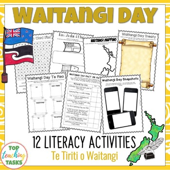 Waitangi Day Print and Go Activity Pack for The Treaty of Waitangi