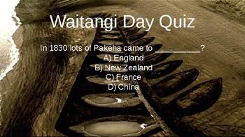 Waitangi Day Quiz