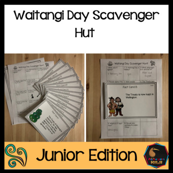 Waitangi Day Scavenger Hunt Junior Edition