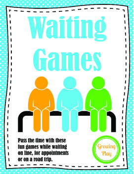 Waiting Games - Indoor Recess Self Regulation Skills