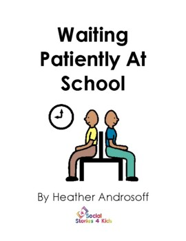 Waiting Patiently At School