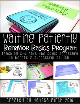 Waiting Patiently- Behavior Basics Program for Special Education
