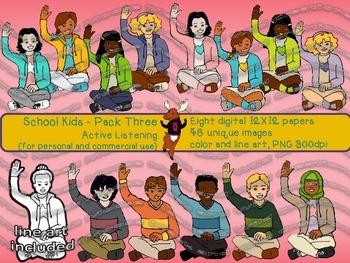 School Kids Pack Three - Active Listening