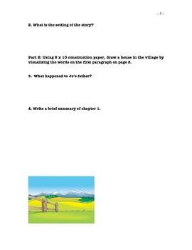 Waiting for Anya by Michael Morpurgo Literature Plan