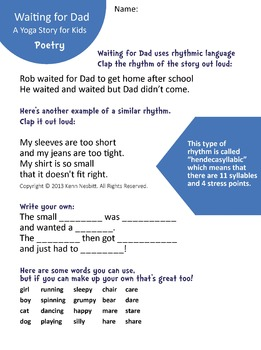 Waiting for Dad Pack: Ebook, MP3 and Worksheets