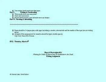 Waiting for Godot/Rosencrantz & Guildenstern are Dead