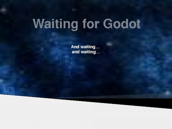 Waiting for Godot by Samuel Beckett - Act I notes