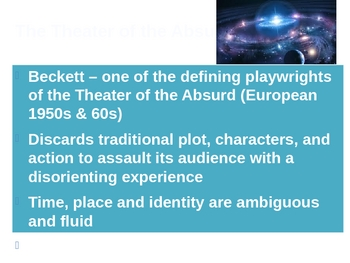 Waiting for Godot by Samuel Beckett - Act II notes