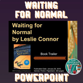 Waiting for Normal by Leslie Connor PowerPoint