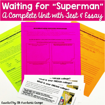 Waiting for Superman Complete Unit