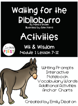 Waiting for the Biblioburro Wit and Wisdom Grade 1 Bundle