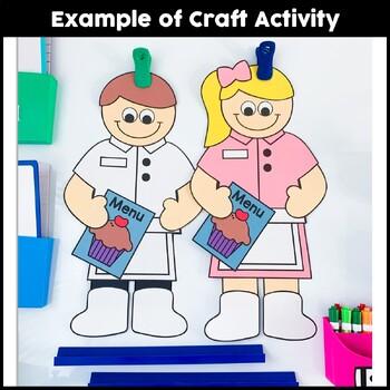 Community Helper Craft {Waitress & Waiter}