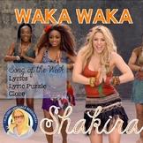 Waka Waka by Shakira Song of the Week Packet