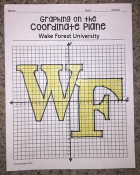 Wake Forest University (Graphing on the Coordinate Plane)