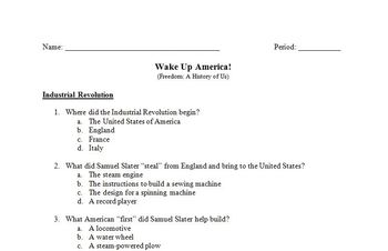 Wake Up America! Movie Guides