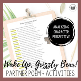"""Wake Up, Grizzly Bear!"" {A Seasonal Partner Poem}"