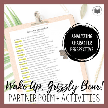 """Wake Up, Grizzly Bear!"" {A Seasonal Partner Poem}"