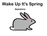 Wake Up It's Spring question book