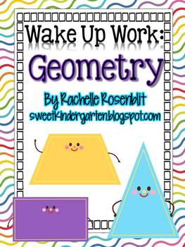 Wake Up Work: Geometry {Common Core Aligned}