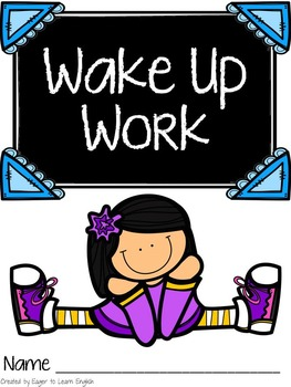 Wake Up Work: Standards-based Morning Activity Binder (Reading, Math & Science!)