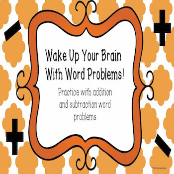 Addition and Subtraction Word Problem Warm Ups
