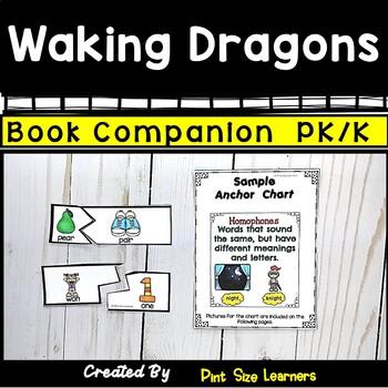 Waking Dragons | Book Based Activities | PK/K