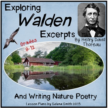Walden by Henry David Thoreau + Poetry Writing