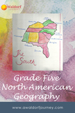 Waldorf Grade Five North American Geography Curriculum Guide