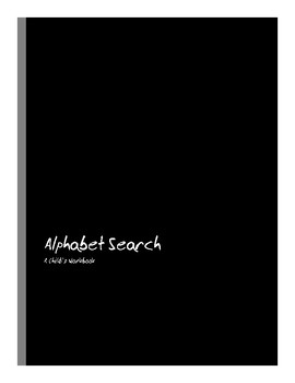 Waldorf-Inspired Alphabet Search Workbook
