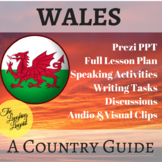 Wales - Country Guide w/ Prezi PPT, multiple activities & FULL Lesson Plan