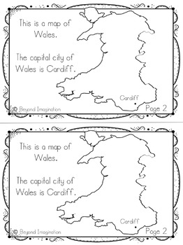 Wales Country Study | 48 Pages for Differentiated Learning + Bonus Pages