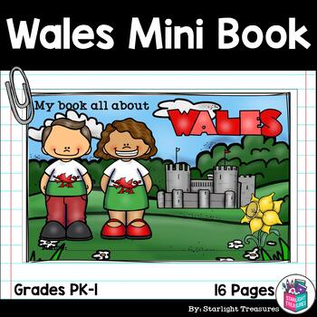 Wales Mini Book for Early Readers - A Country Study