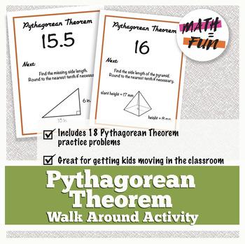 Walk Around Activity: Pythagorean Theorem Review
