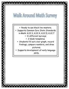 Walk Around Math Surveys