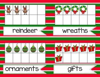 Walk, Count, & Write the Room *Christmas!*