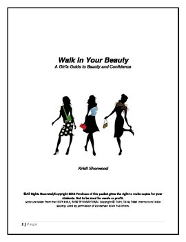 Walk In Your Beauty -Teacher Curriculum