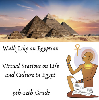 Walk Like an Egyptian Interactive Webquest