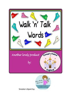Walk 'N' Talk onset & rime writing activity