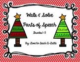 Parts of Speech Christmas Edition: Walk & Solve