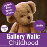 Walk & Talk Activity: Childhood/Imperfect *EDITABLE*