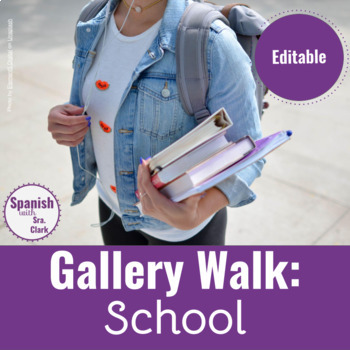 Walk & Talk Activity: School