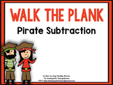 Pirate Subtraction! Walk The Plank!